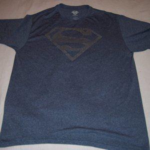 Superman Blue S/S T/Sh XL